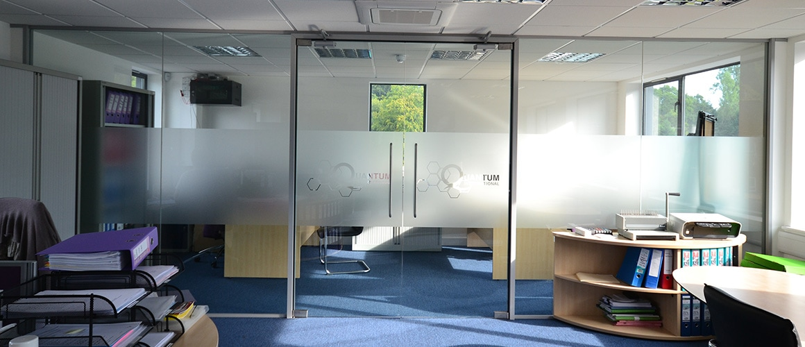 Frameless Glass Partitions Sussex