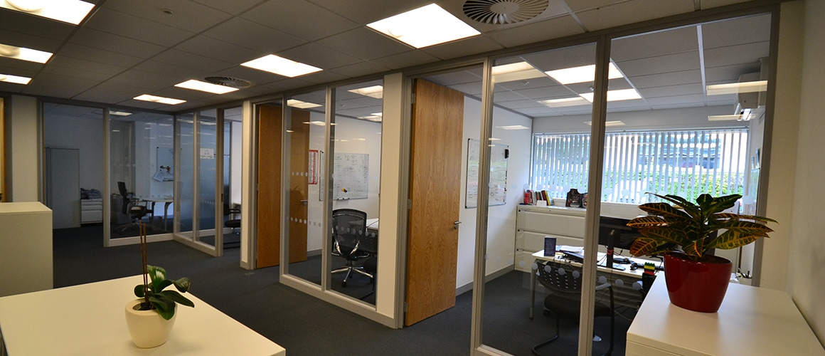 Framed Glass Partitions Sussex