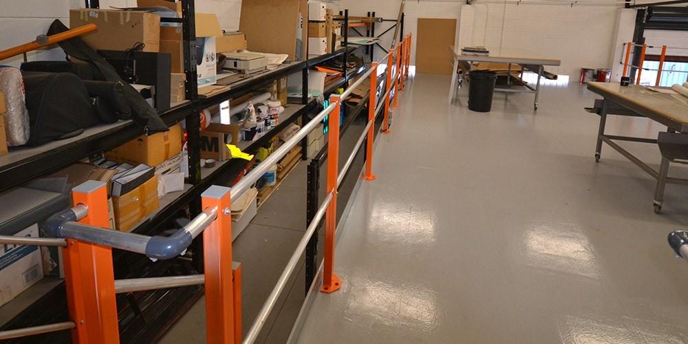 PVL UK – Mezzanine Floor Installation