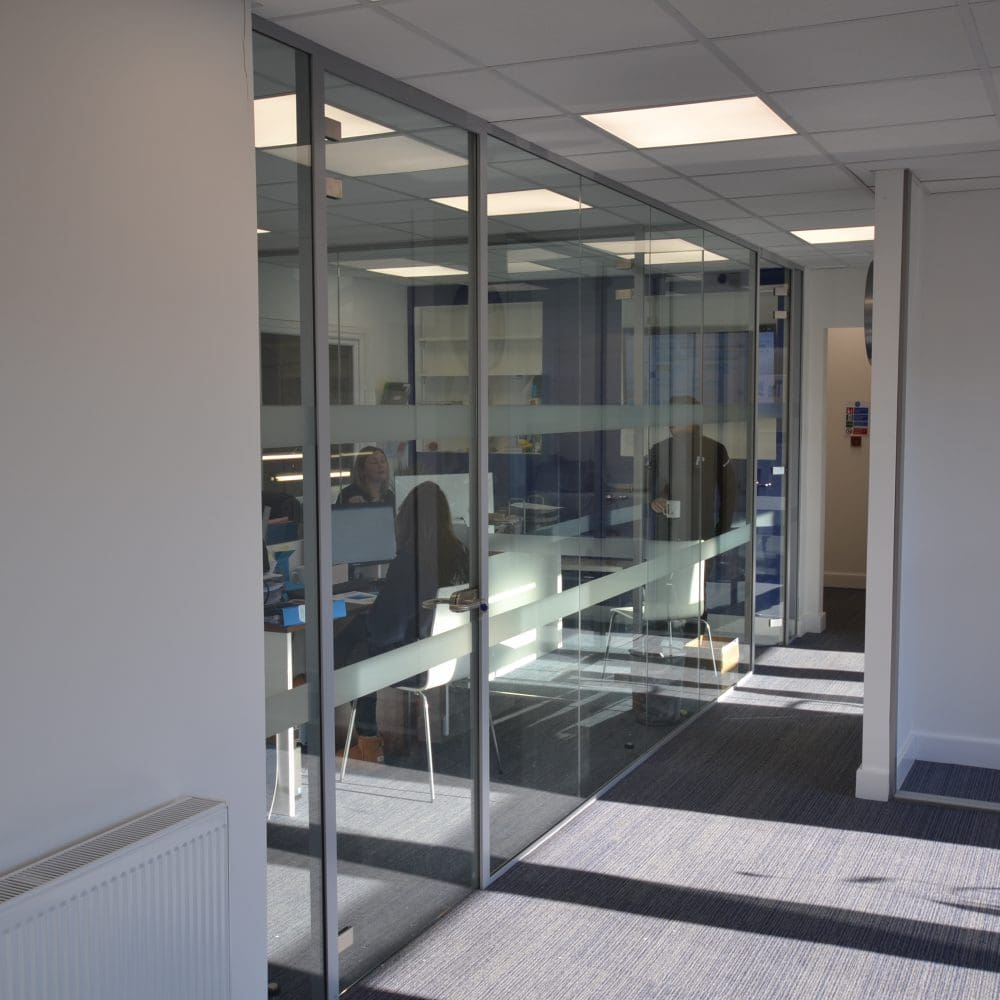 Gap Solutions – Glass Partitioning