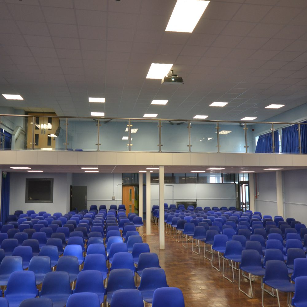 Hazelwick School – Partitioning and Mezzanine Flooring