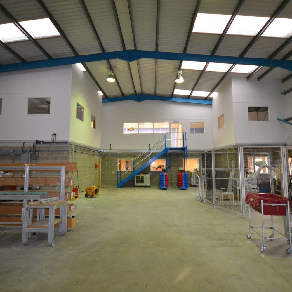 Ingenia Solutions – Full-Height Stud Partitioning
