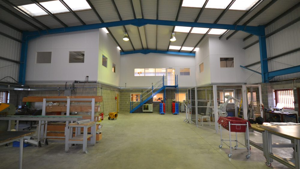 Full height stud partitioning West Sussex