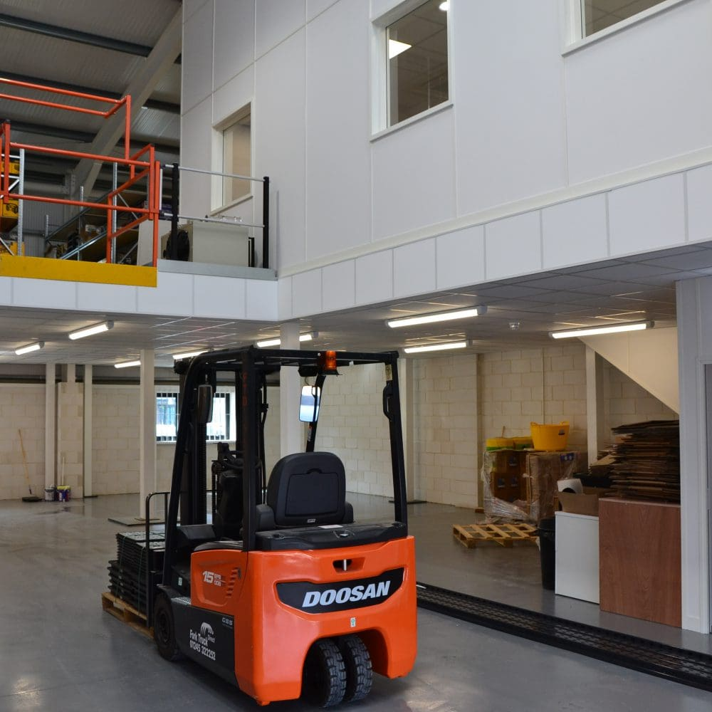 Parker Building Supplies – Mezzanine Flooring Construction