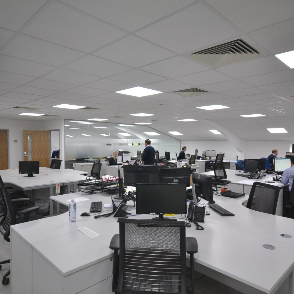 Global Technologies Racing – Office Refurbishment