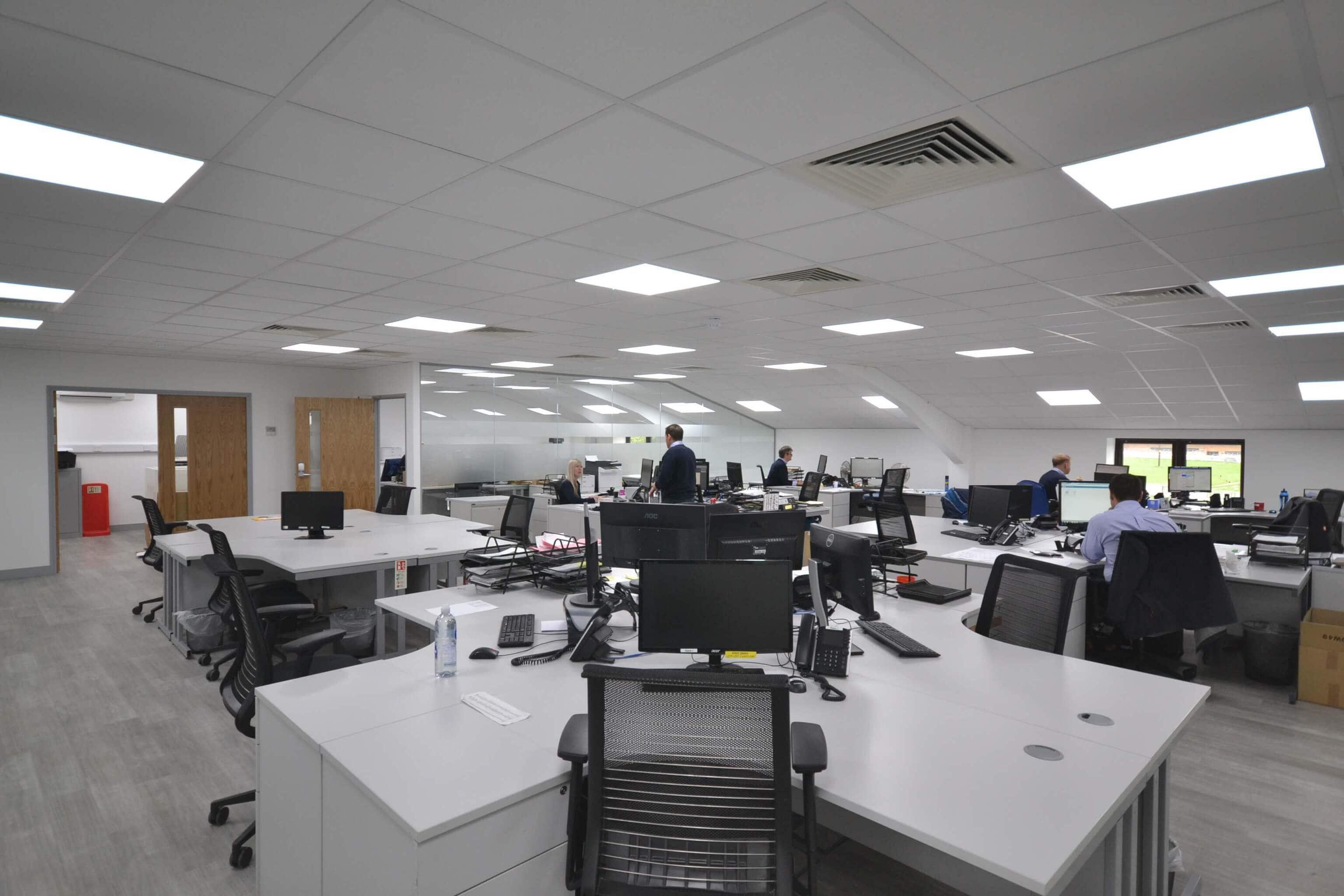 Beautiful Office Refurbishment Arundel