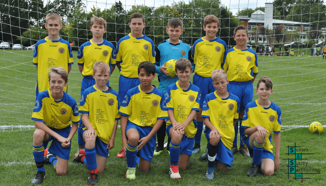 Sussex & Surrey Partitioning Sponsor Local Football Team - Marle Place Wanderers Under 11s