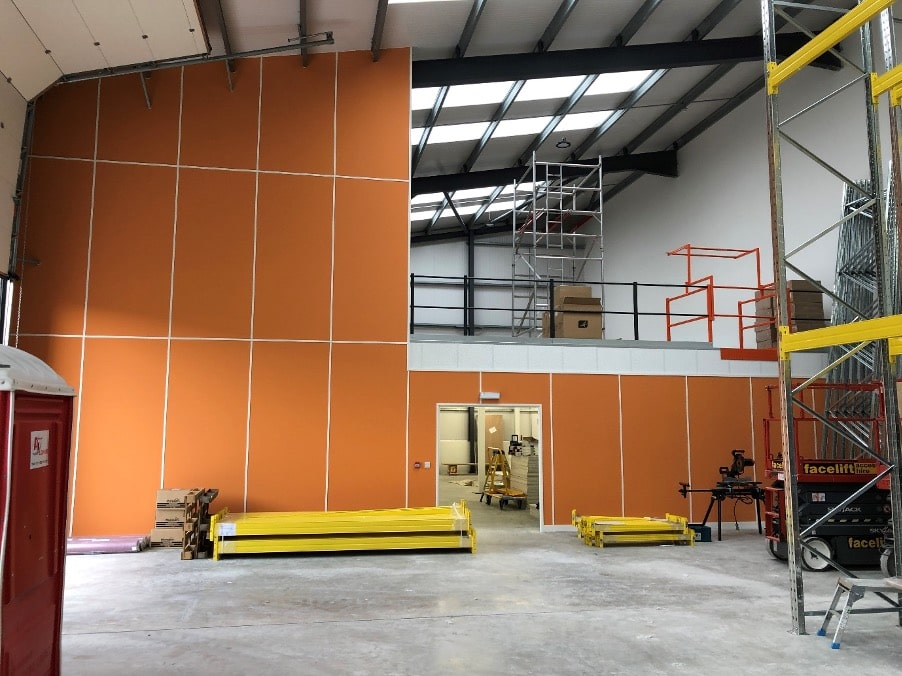 Cheeky Wipes – Mezzanine Floor Installation