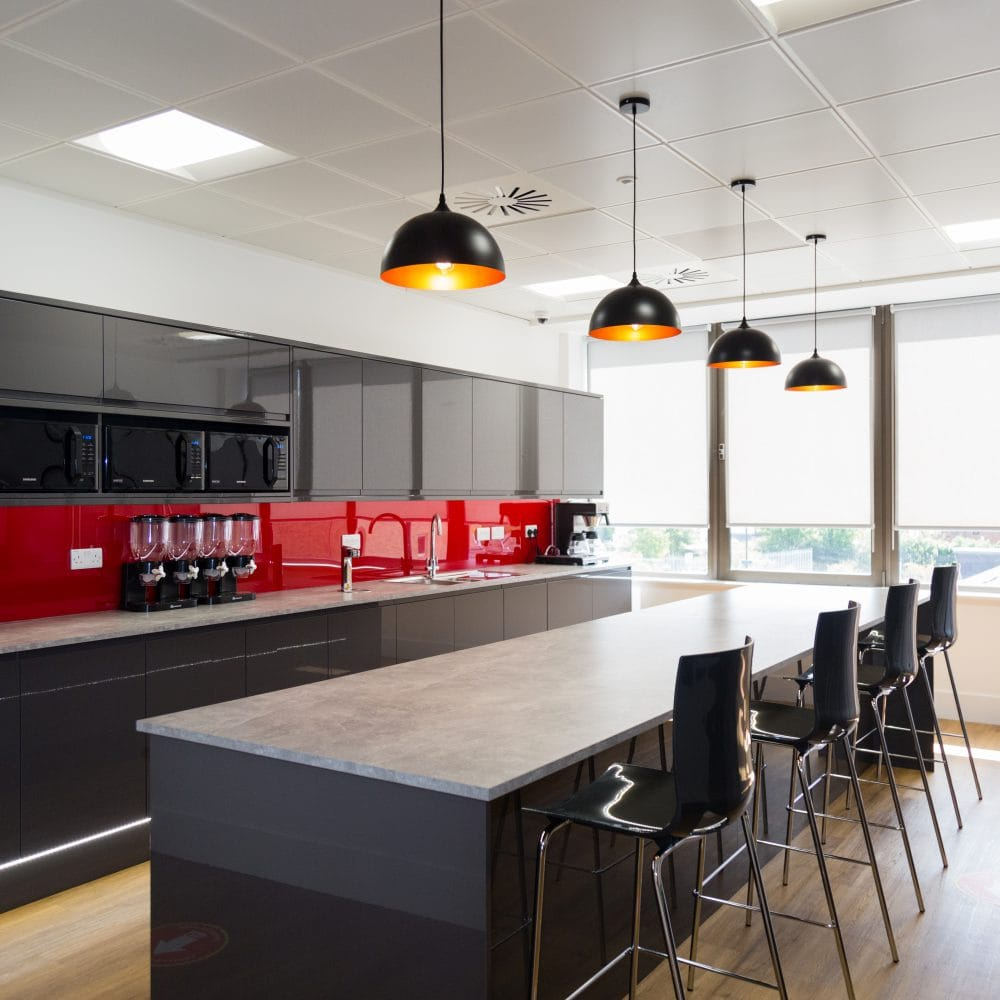 Barrington James – Complete Fit Out & Partitioning Installation