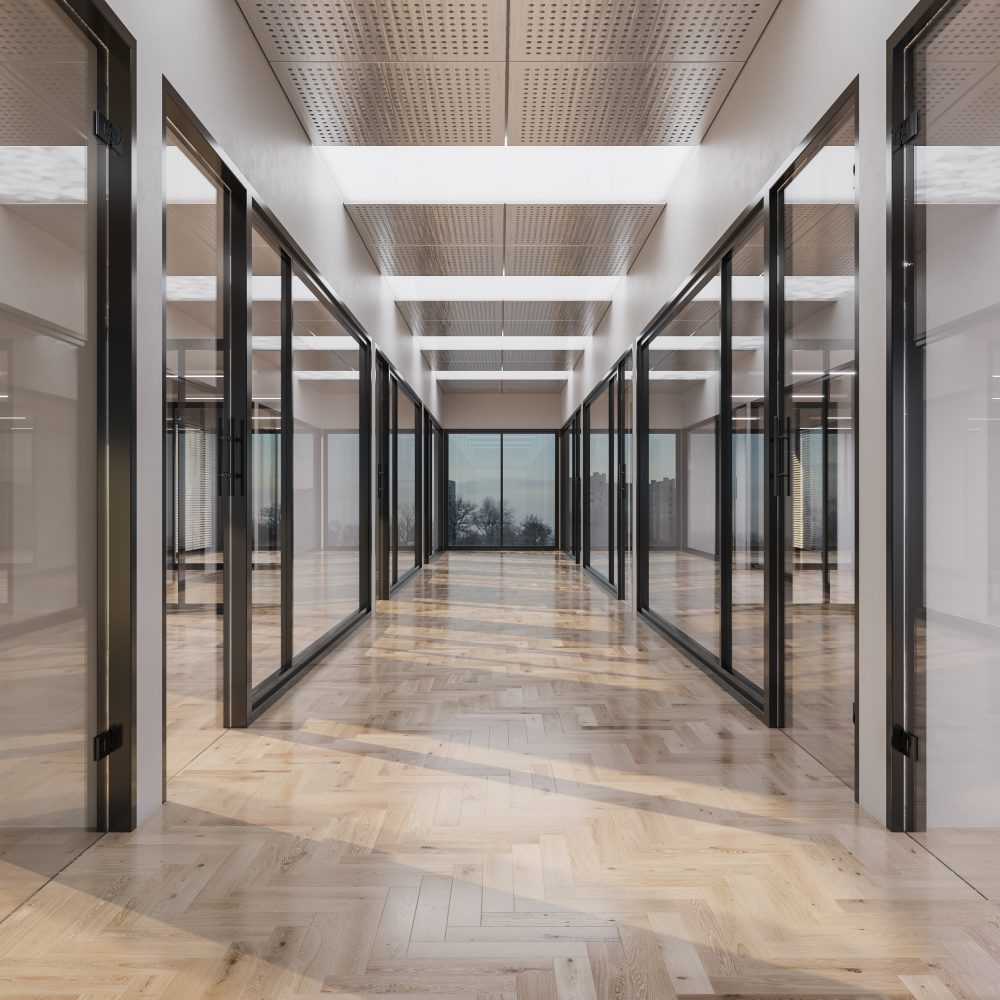 Montefiore Hospital – Glass Partition Installation